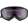 Alpina Panoma Magnetic Q+S S1+S3 goggles zwart